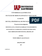 Metod d La Investig Violncia