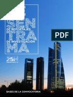 Bases i Premio de Reportajes de Investigacion - Desentrama