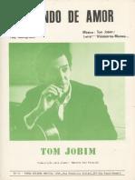 Falando de amor - Jobim