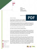 Barbara Romagnan - Réponse à l'UDAF du Doubs