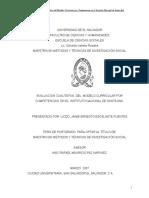 Evaluación Cualitativa Del Modelo Curricular Por Competencias en El Instituto Nacional de Santa Ana