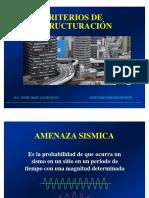 5.-Criterios estructuración