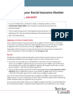 applying for your social insurance number