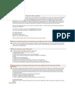 FAQ FOR VFD
