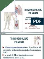 Tromboembolismo Pulmonar-Abordaje Diagnostico