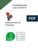 Programación Portugués 2014-2015 1