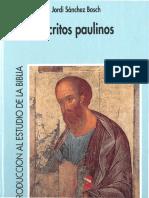 7. Escritos paulinos - Jordi Sánchez Bosch.pdf