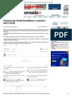 Detienen Por Fraude Inmobiliario a Miembro Del PT de BC — La Jornada