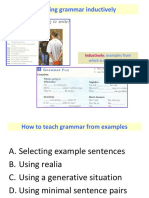 (s) Presenting and Practising Grammar - Part 2