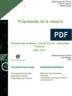 DEFORMACIÓN Y PRESIÓN - Propiedades de La Materia