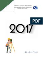 Informe de Topografia i (2 Edicion)