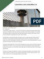 Mujeres en Prisión Preventiva, Más Vulnerables a La Tortura_ ONU _ Cimac Noticias