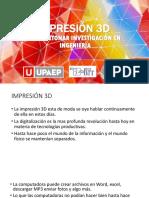 Conferencia Impresión 3D Upaep