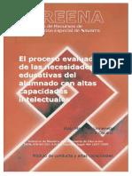 El Proceso Evaluador del las  Necesidades Educativas del Alumnado con Altas Capacidades.pdf