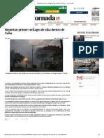 Reportan Primer Contagio de Zika Dentro de Cuba — La Jornada