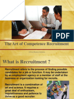 Art of Recruitment