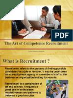 Art of Recruitment