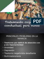 TRATAMIENTO COGNITIVO-CONDUCTUAL PARA NIÑOS