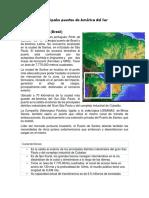 Principales Puertos de América Del Sur