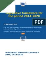 Ann MYLEUS - DG REGIO-cadru Legislativ 2014-2020