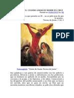 Viernes Santo - Cuando Amar Es Morir en La Cruz