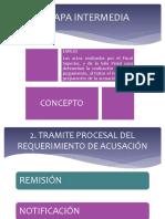 Etapa Intermedia. Proc Penal II