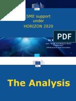 Bernd REICHERT- DG Research &Innovation -H2020 SME Instrument