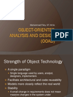 Object-Oriented Analysis and Design (Revised)