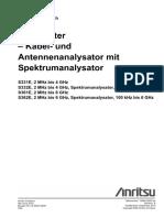 10580 00252 de B S3xxE SiteMaster UG