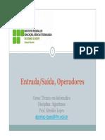 02 Entrada Saida Operadores