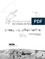 Livro de Atividades. Biodiversidade dos Campos de Cima da Serra