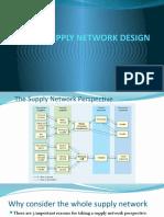 6. Supply Network Design