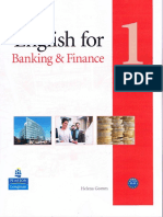 English for Banking and Finance 1 TB