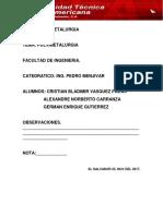 pulvimetalurgia(matales polvos)
