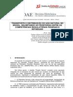 Gustavo Binenbojm - Transporte e Distribuição Do Gás Natural No Brasil
