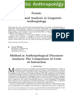 Susan Philips Methods and Analysis in Linguistic Anthropology