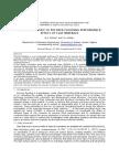 Simulation Study of Polymer Flooding Performance