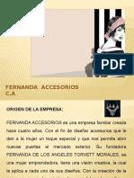 Fernanda Accesorios C.a.