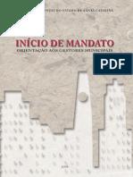 Cartilha Inicio de Mandato 2008