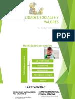 Habilidades Sociales y Valores 2016