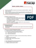 Especificaciones Requeridas Proyecto de Control Vignola