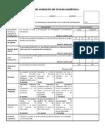 Rubrica de Evaluacion Tarea Academica 1 - 2017 2