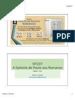 NT207 Romanos EBNESR 2017