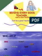 Good, Great Teacher