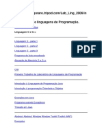 Laboratório de Linguagens de Programação