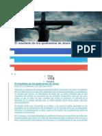 El Resultado de Los Quebrantos de Jesús
