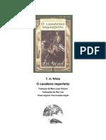 O Cavaleiro Imperfeito – O Único e Eterno Rei Vol 03 – T.H.white