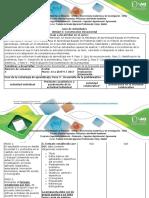 Guia de Actividades y Rubrica de Evaluación - Paso 3 -Desarrollo de La Problemática