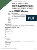 Previsualización de Declaración de Impacto Ambiental (DIA)