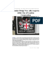 Domine Dirige Nos- Alla Scoperta Della City of London Corporation
